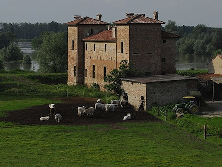 strada Palazzo Due Torri Polesine Parmense