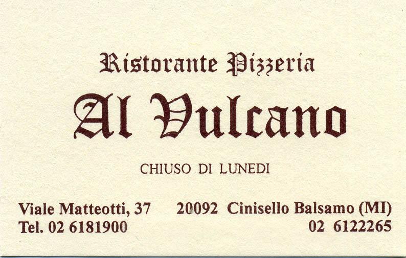 Al Vulcano