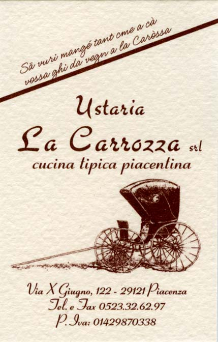 Ustaria La Carrozza